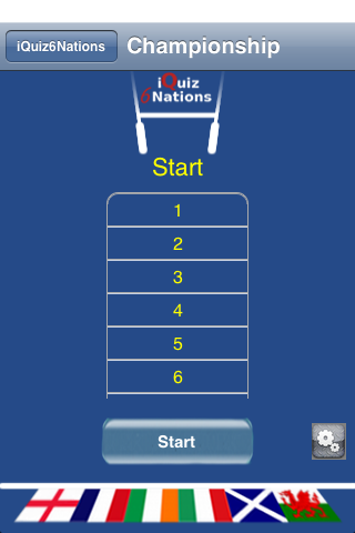 Screenshot iQuiz6NationsLite