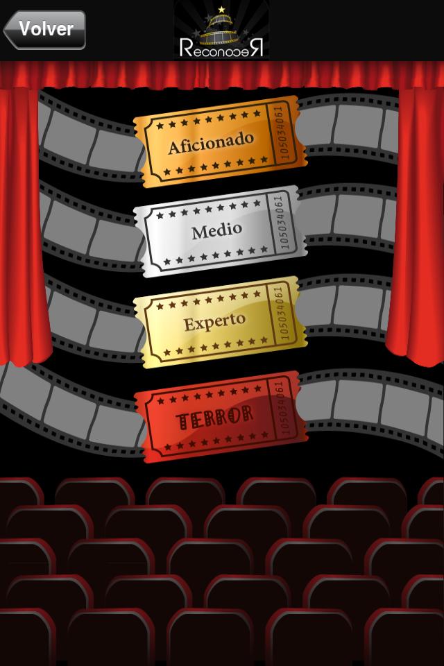 Screenshot Reconocer Películas